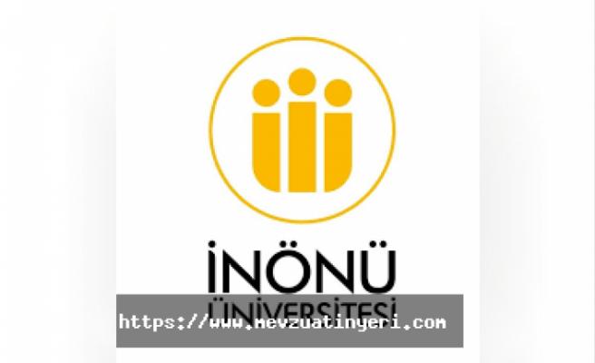 İnönü Üniversitesi 101 sözleşmeli personel alım ilanı