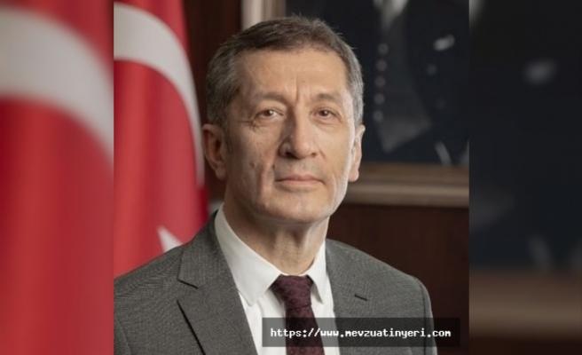 Milli Eğitim Bakanından yüz yüze eğitim açıklaması
