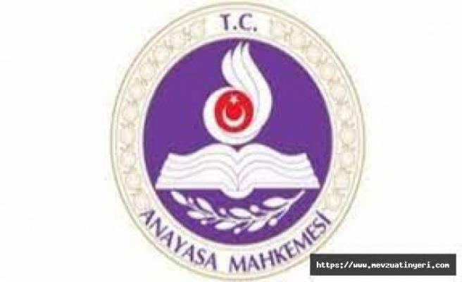 Anayasa Mahkemesi, kamu görevlilerine ohal koruması veren düzenlemeyi iptal etti