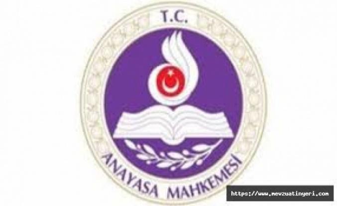 Anayasa Mahkemesi, OHAL kapsamında alınan ilave tedbirler için getirilen kısıtlamayı iptal etti