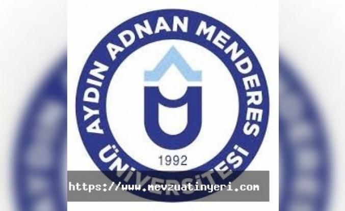 Aydın Adnan Menderes Üniversitesi sözleşmeli personel alım ilanı